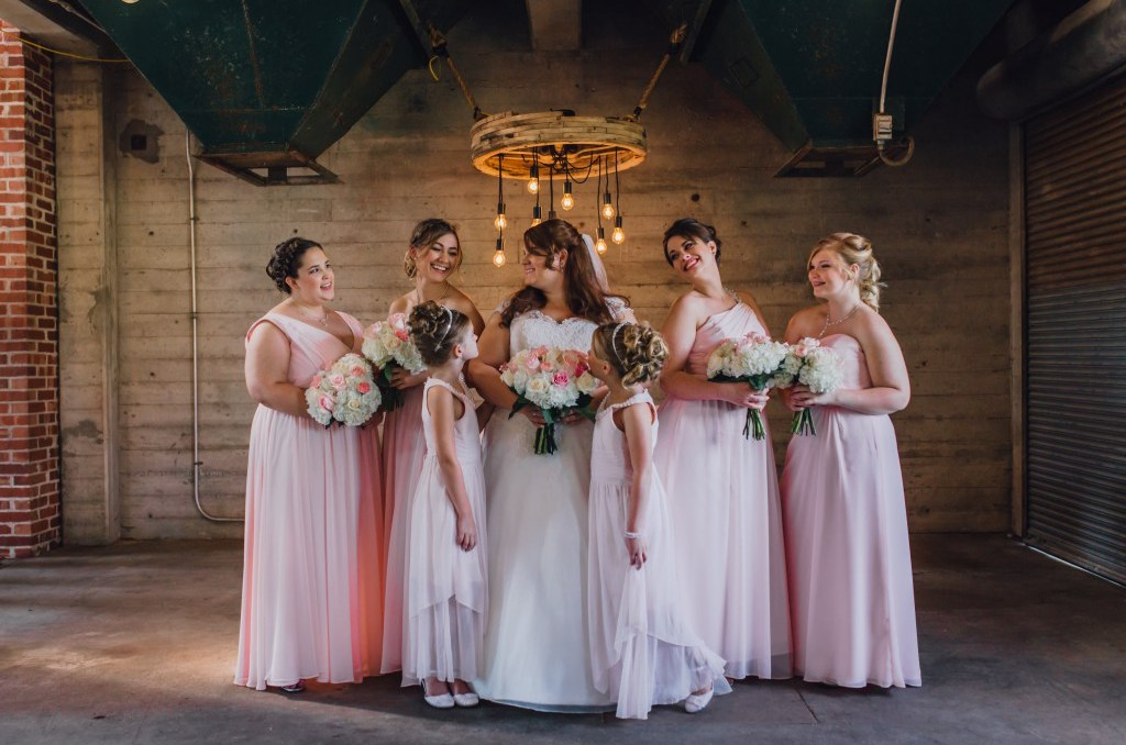 Pastel Pink meets Gold & White: An Elegant Wedding