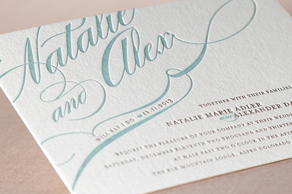 Best Letterpress Wedding Invitations: The Most Affordable Wedding Invitations From Minted