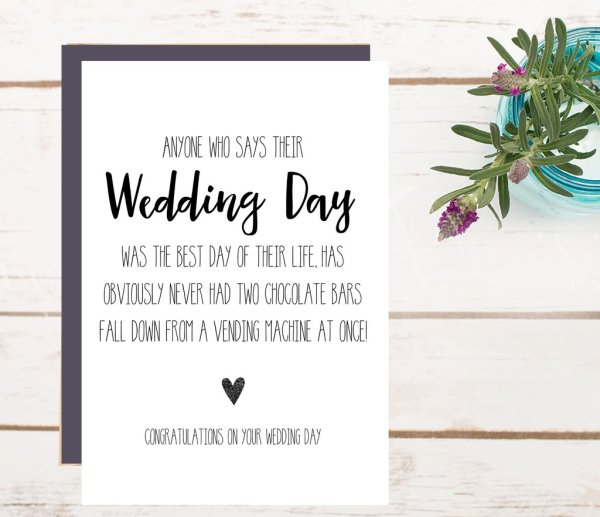 Wedding Wishes For The Newly Engaged Couple Wedding Wish Cards For The Couple How