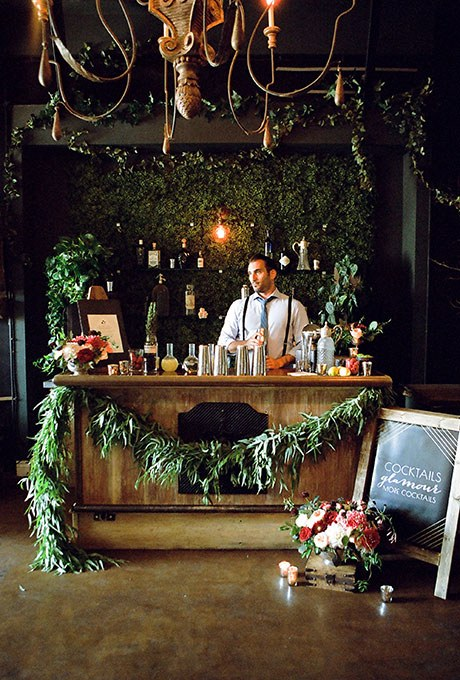 Cocktail lounge bar for your wedding. Here is a list of creative wedding bar ideas you can use to set up your wedding. Wedding decoration ideas that will wow your wedding guests. Here is a list of the best food reception stations you can set up to entertain your wedding guests. Unique Wedding station ideas for your reception. #Weddingstation #weddingbarideas #weddingideas
