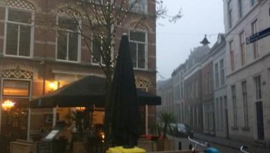 netherlands foggy city