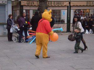 granada street performer