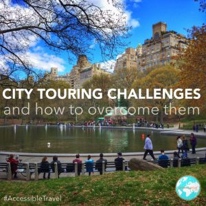 accessible travel and city touring challenges
