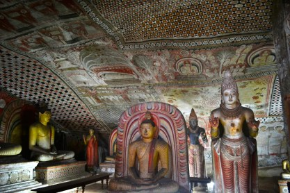 Dambulla, a large town, situated in the Matale District, Central Province of Sri Lanka