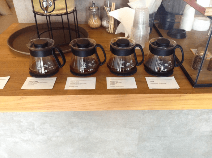 Coffee tasting at Impresso