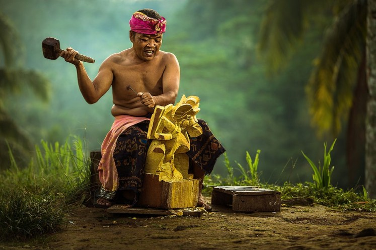 Balinese Craf Man - Flickr