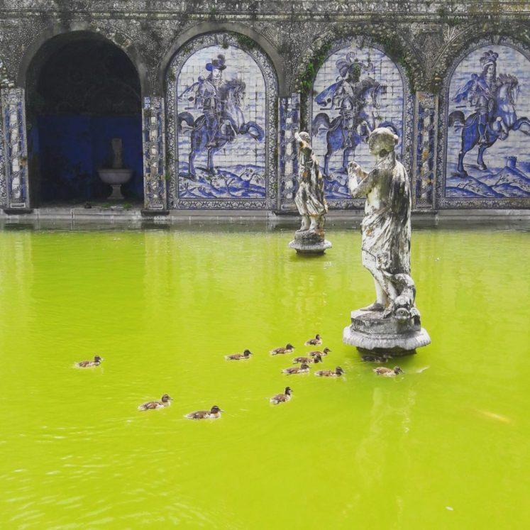 Palácio dos Marqueses de Fronteira in Lisbon
