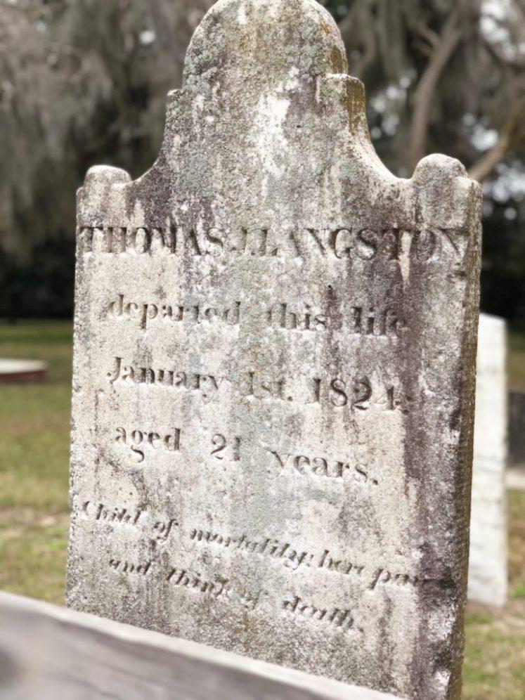 colonial park cemetery ©️Ami B. Cadugan