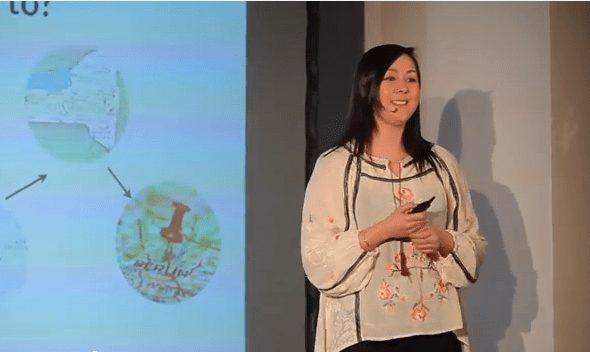 Erickson, founder of Geekettes speaks at TedTalk in Berlin