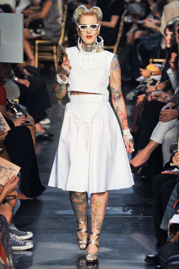 PLUS MODEL: Tattoos in Fashion (and how to hide them)