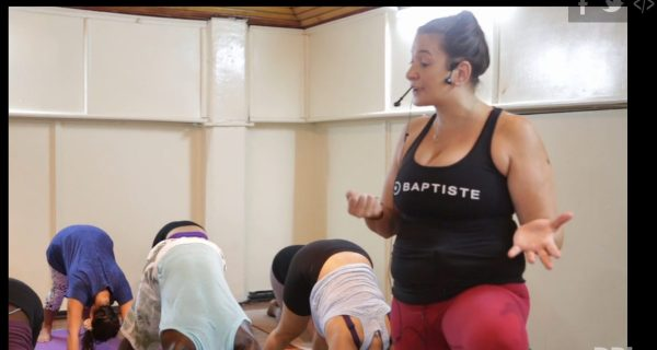 African safari inspires change through the power of yoga