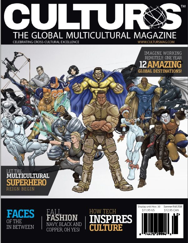 Culturs Celebrates the Multicultural Family and Superheros