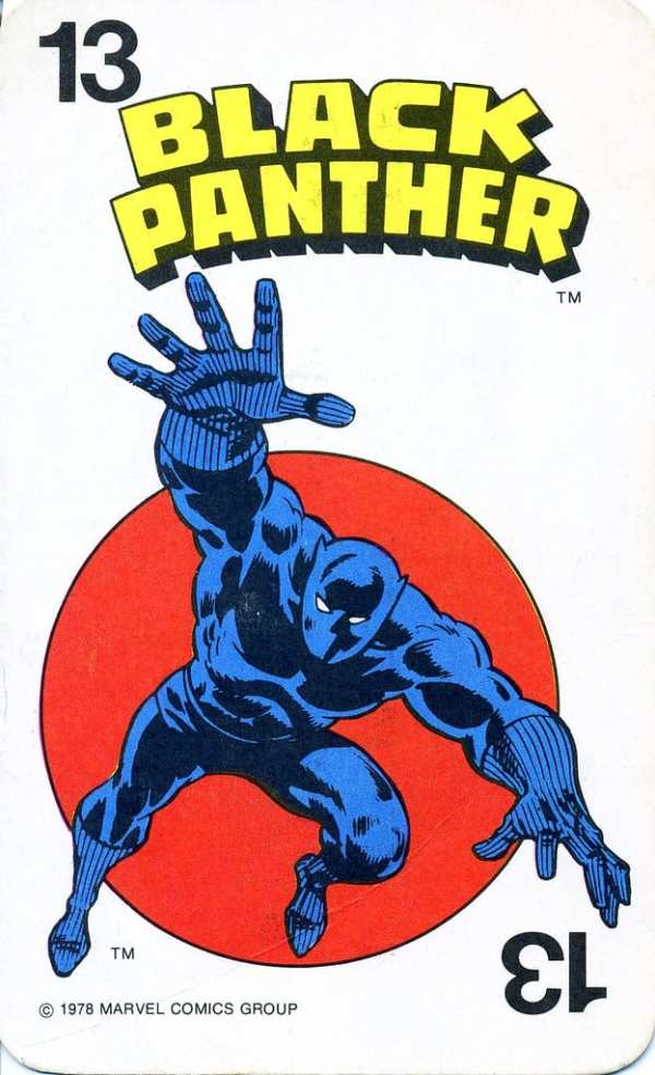Cover for Black Panther. Shows the titular superhero ready to pounce.