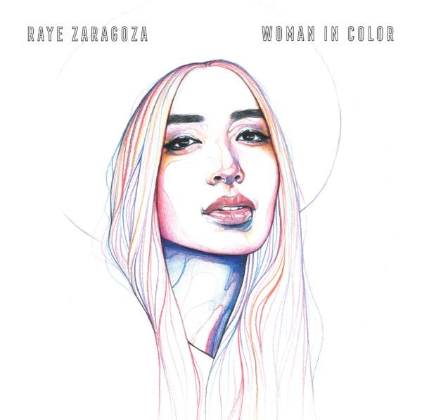 Folk singer Raye Zaragoza's Woman in Color Album Cover