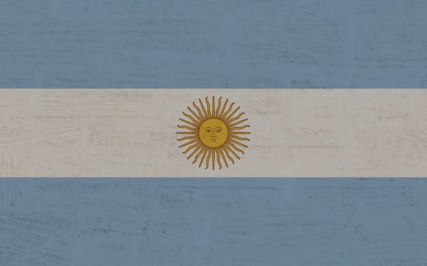 The Argentine flag to show where Nader came from