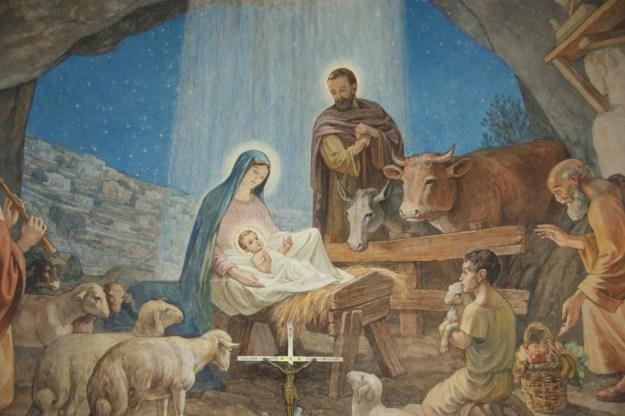 Bethlehem, shepherds on the field