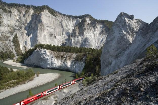 Zwitserland, Rhaetische Bahn