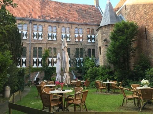 De Prinsenhof, hier woonde Willem van Oranje met zijn gezin