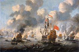 Marinemuseum, slag bij Chatham