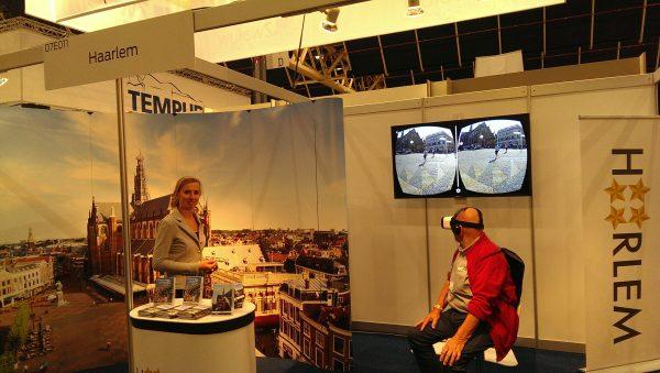 Cultuurrondje 50PlusBeurs 2016, Haarlem met 3D bril
