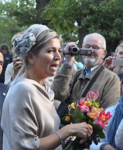 Kleurrijke koningin: foto: Marianne Visser van Klaarwater