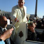 2000 Nederlandse pelgrims ontmoetten paus Franciscus I