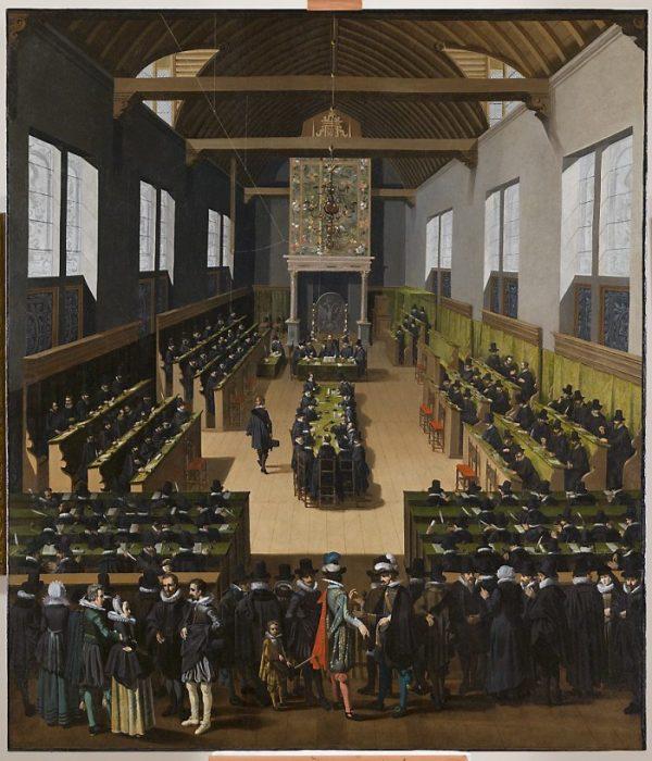Gouden Eeuw, Synode van Dordrecht-, volgens Pouwels Weyts de Jonge