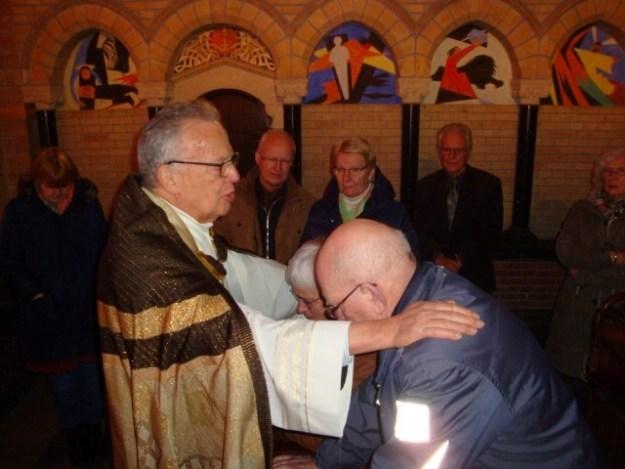 1 Korinthiërs 13 stond centraal tijdens de kerkelijke inzegening van het huwelijk tussen Marianne Visser van Klaarwater en Peter Lasschuit op 2/2/2017 in de kathedrale basiliek st Bavo te Haarlem.