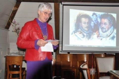 Marianne Visser van Klaarwater. Lezing over het geloof van Oranje voor de Orde van den Prince, afd. Delft, 22 december 2016