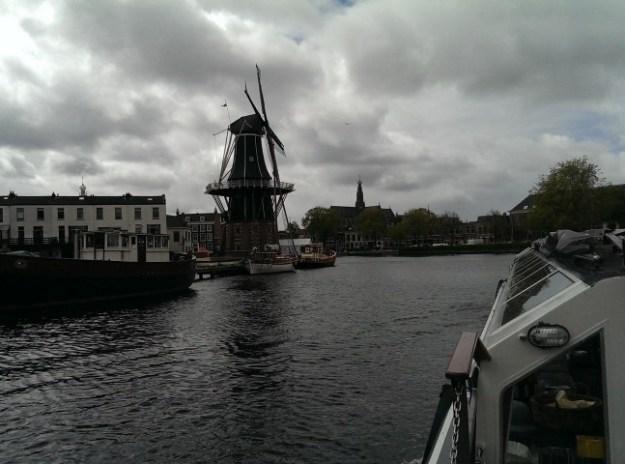 Dagje uit in Haarlem, Orde van den Prince, 22 april 2017, molen de Adriaan en de st Bavo, rondvaart