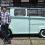 Antwerpen ontdekken in oldtimer van Voyage Local