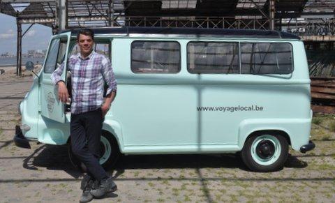Antwerpen ontdekken met Voyage Local, een initiatief van Jamil Valckx