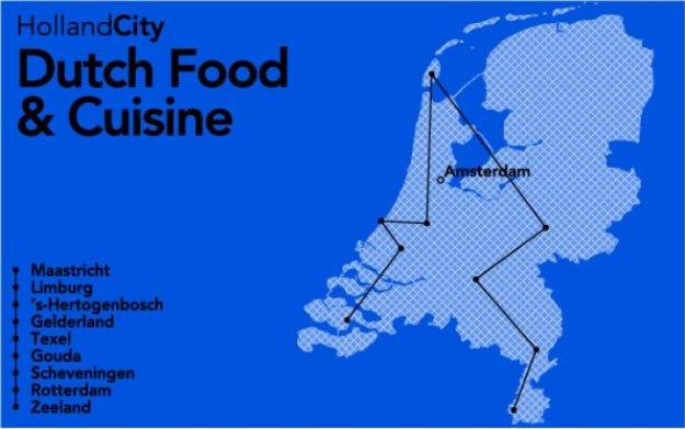 Dutch Food and Cuisine, verhaallijn