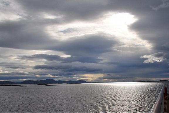 Lapland, aan boord van de Hurtigruten