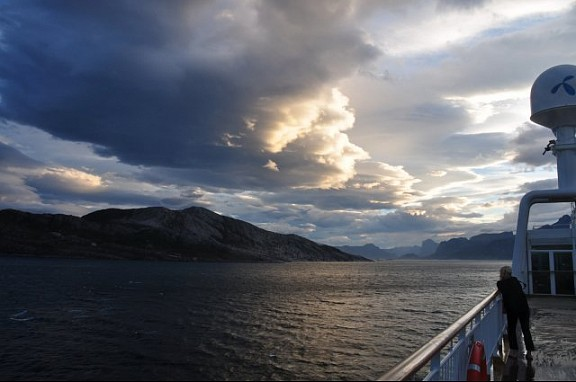 Lapland: aan boord van de Hurtigruten, voorbij de poolgrens