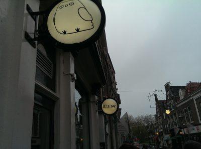Cultuurstad aan het Spaarne, Café het Uiltje van de Haarlemse brouwer Kelvin Ebbinge. Hij trakteerde leden van PRET op zijn verrukkelijk bier