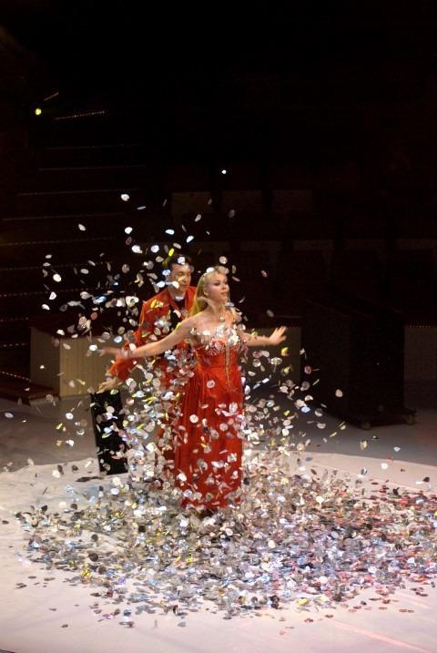 Haagse Kerstcircus 2017, duo Monastrysky uit Moskou