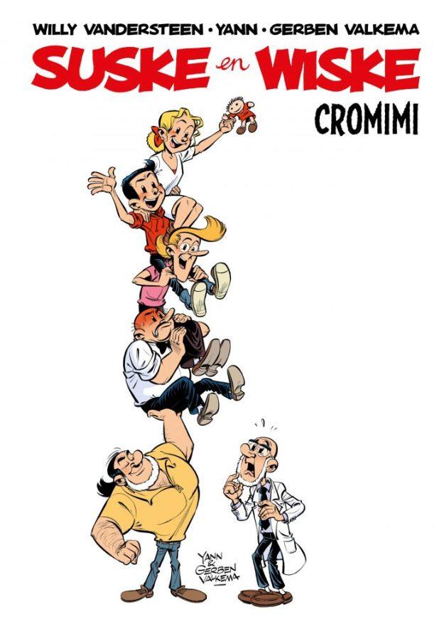 Haarlemse striptekenaar Gerben Valkema tekende voor album Cromimi, een hommage aan bedenker Willy Vandersteen. Het album is overal verkrijgbaar