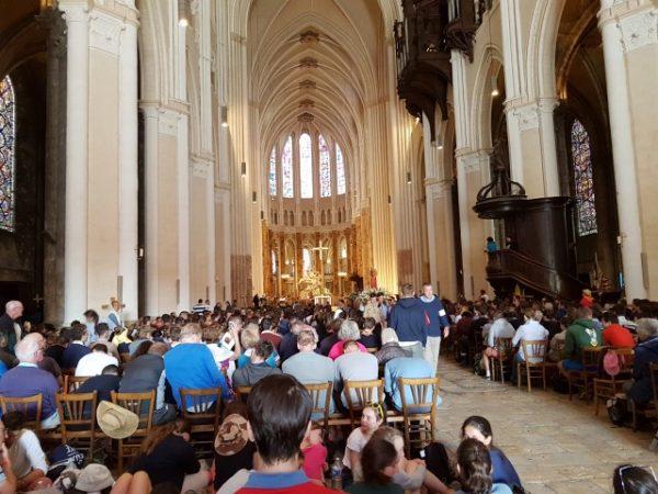 Bedevaart Parijs Chartres 2018
