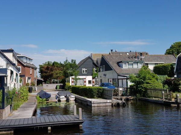 Hollands Plassengebied; aanlegsteiger Kaagervaaring