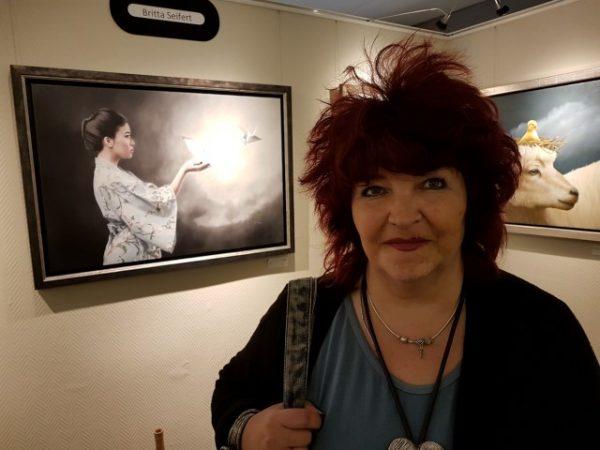 GalerieStaphorsius, expositie Zonder Haast, Brita Seifert, met haar werken