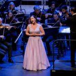 Jeannette van Schaik straalde tijdens Nieuwjaarsconcert Residentie Orkest