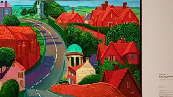 East Yorkshire, David Hockney, the way to York