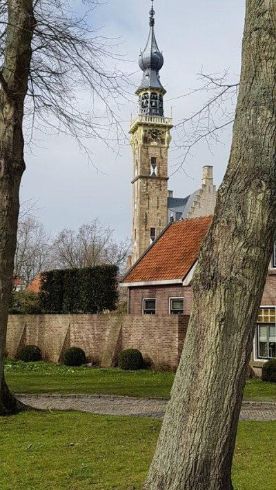 Zeeuwse kust, Veere, de stadhouders van Oranje hielden ook toezicht op het carillon