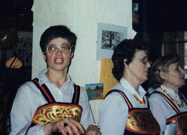 Metamorfose van Berlijn. In 1984 was ik benieuwd naar de ontwikkelingen in het Oostblok. Ik zong mee met het Russische koor Otchizna en reisde met Roel via Berlijn naar Rusland.