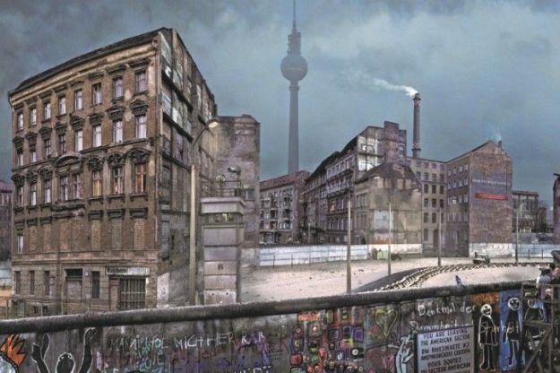 Metamorfose van Berlijn, in november 1989 viel de muur