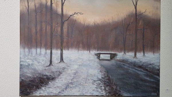 Wintertime, 50 x 60 cm