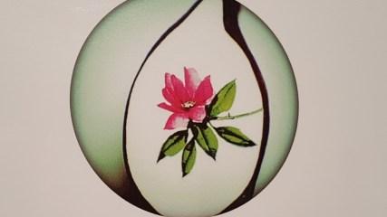 Micro Art, roos in een mensenhaar, Mykola Syadristy