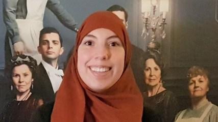 Samya Hafsaoui, ''ik vond de bioscoopfilm Downton Abbey zo mooi, dat ik af en toe moest huilen''