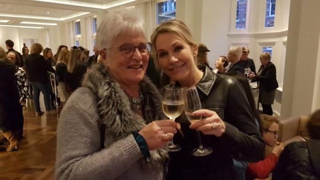 GTST sterren, Tanja Jess neemt snel een glas wijn